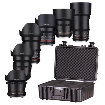 Samyang VDSLR 6 Lens Kit For Sony FE