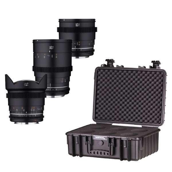 Samyang VDSLR MK2 3Lens Kit Sony FE