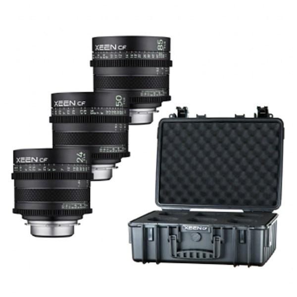 Samyang XEEN CF Cinema Lens Kit 24/50/85