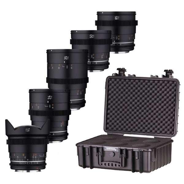 Samyang VDSLR MK2 5Lens Kit Sony FE