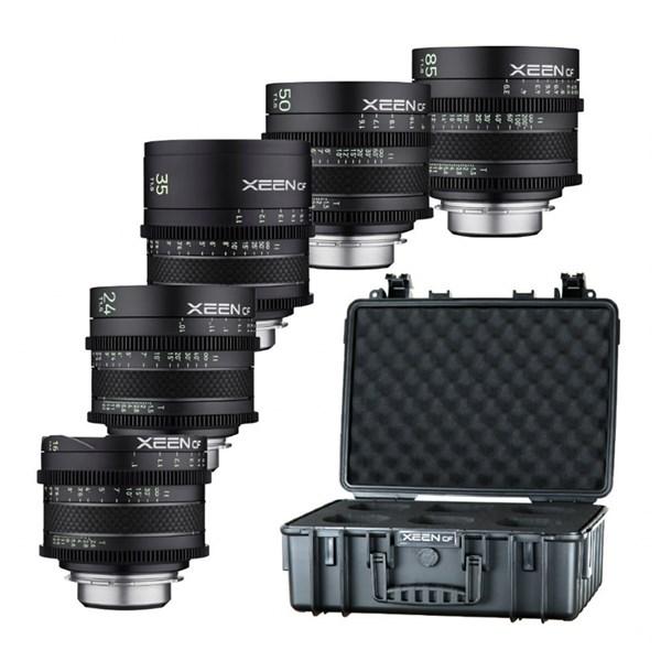 Samyang XEEN CF Cinema 5 Lens Kit 16/24/35/50/85 - Canon EF