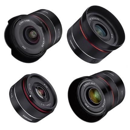 Samyang Tiny Prime AF Lens Kit - 18/24/35/45mm - Sony FE Mount