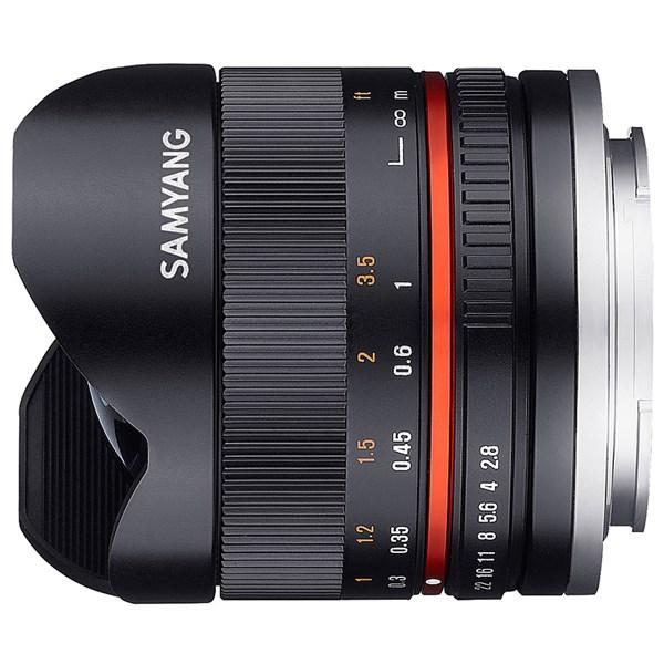 Samyang 8mm f/2.8  Fisheye II Black - Sony E
