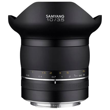 Samyang XP 10mm f/3.5 Ultra Wide Lens Canon EF