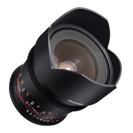 Samyang 10mm T3.1 VDSLR ED AS NCS CS II Cine Lens Sony E