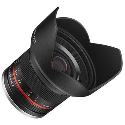 Samyang 12mm f/2 NCS CS Ultra Wide Lens Sony E Black