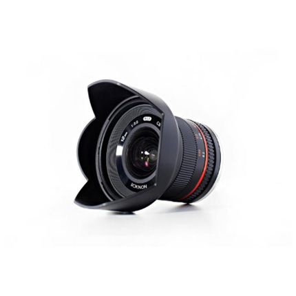 Samyang 12mm f/2 NCS CS Ultra Wide Lens Fujifilm X Black