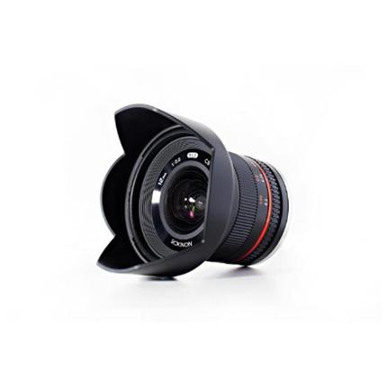 Samyang 12mm f/2 NCS CS Ultra Wide Lens Micro Four Thirds Black
