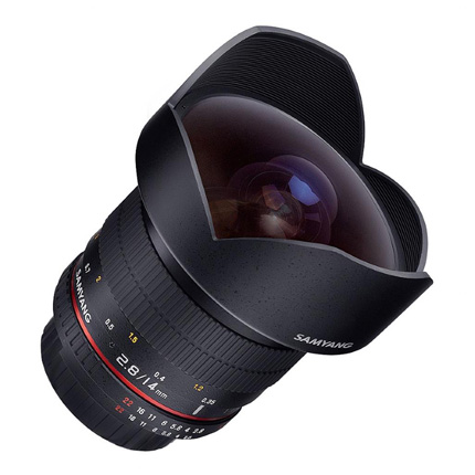 Samyang 14mm f/2.8 ED AS IF UMC Ultra Wide Angle Lens Canon EF