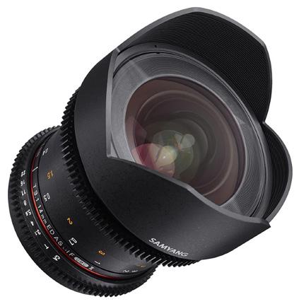Samyang 14mm T3.1 VDSLR ED AS IF UMC II Cine Lens Canon EF
