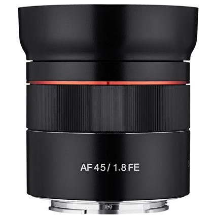 Samyang AF 45mm f/1.8 FE Lens Sony E