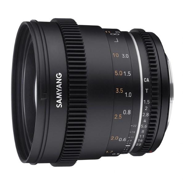 Samyang 50mm T1.5 VDSLR  MK2 - Canon M