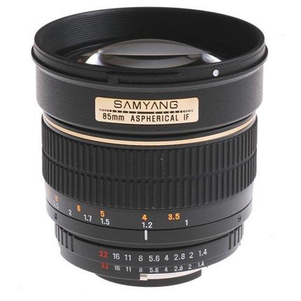 Samyang 85mm f/1.4 AS IF UMC Aspherical Lens Nikon F