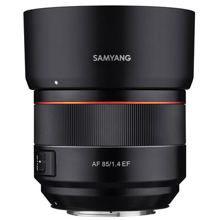 Samyang AF 85mm f/1.4 Canon EF Mount Lens