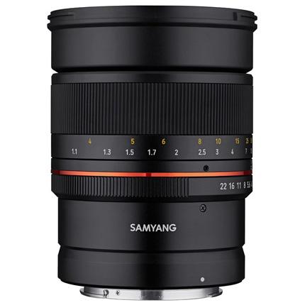 Samyang MF 85mm f/1.4 Lens Canon RF Mirrorless