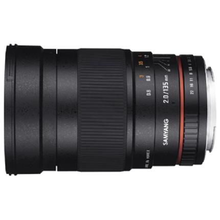 Samyang 135mm f/2 ED UMC Telephoto Lens Canon EF