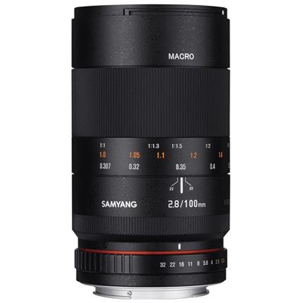 Samyang 100mm f/2.8 ED UMC Macro Lens Fujifilm X