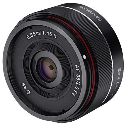 Samyang AF 35mm f/2.8 FE Wide Angle Prime Lens Sony E
