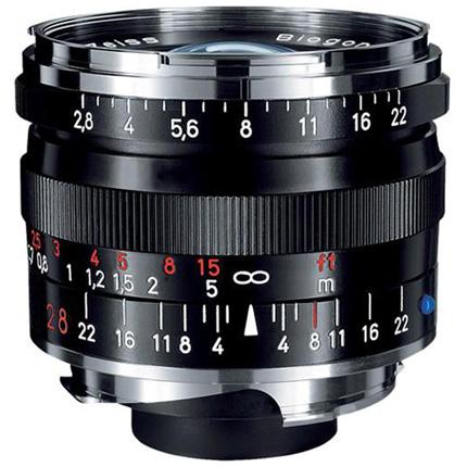 Zeiss Biogon T* 28mm f/2.8 ZM Lens Black Leica M