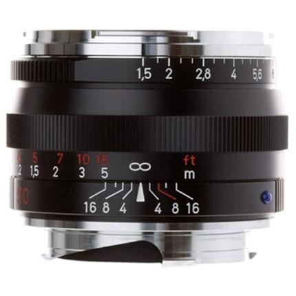 Zeiss C Sonnar T* 50mm f/1.5 ZM Lens Black Leica M