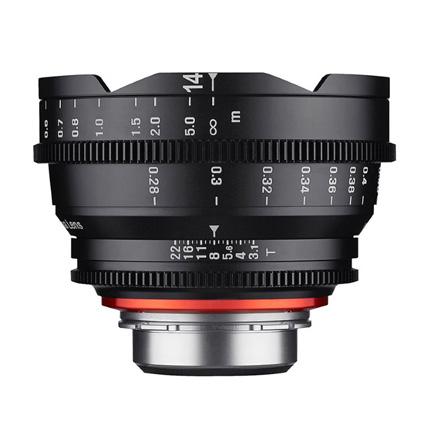 Samyang XEEN 14mm T3.1 Cine - Sony E