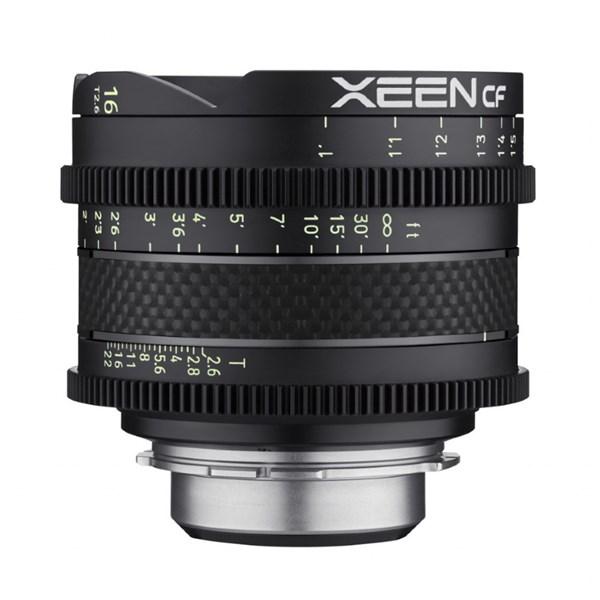 Samyang 16mm T2.6 XEEN CF Cine - Sony E