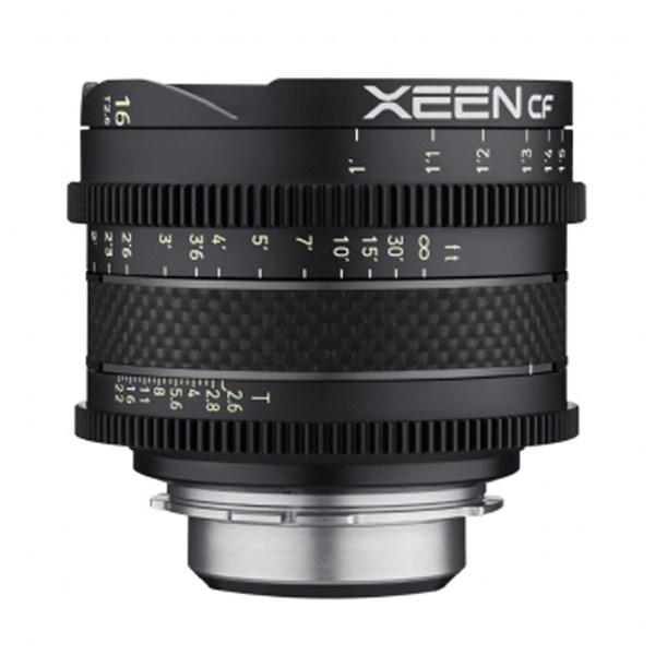 Samyang 16mm T2.6 XEEN CF Cine -  PL