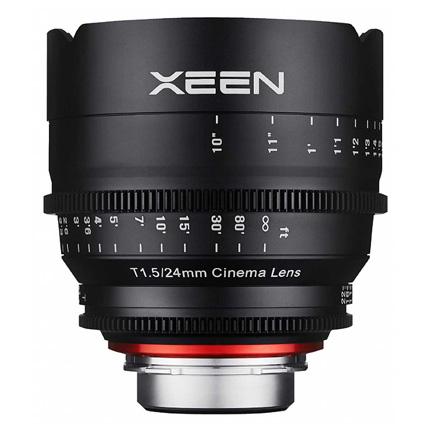 Samyang XEEN 24mm T1.5 CINE Lens - Canon Fit