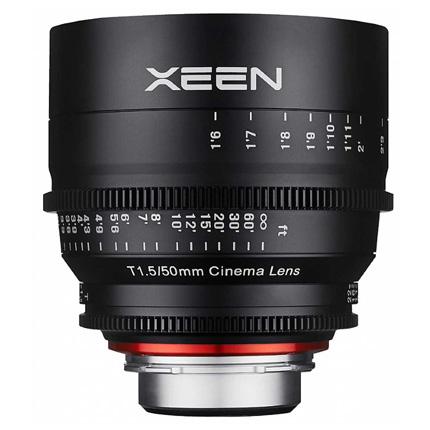 Samyang XEEN 50mm T1.5 CINE lens - PL mount