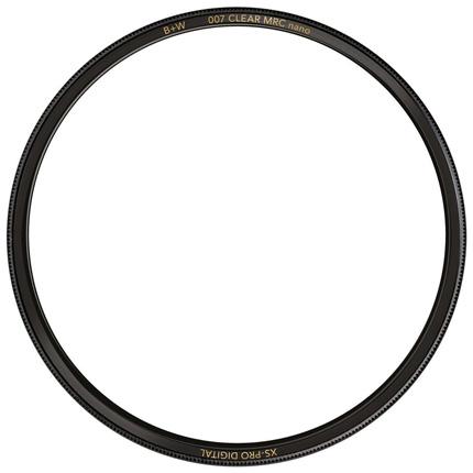 B+W 49mm XS-Pro Digital 007 Clear Protector Filter MRC Nano