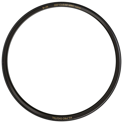 B+W 62mm XS-Pro Digital 007 Clear Protector Filter MRC Nano