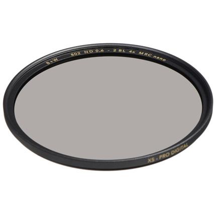 B+W 77mm XS-Pro 802 Neutral Density 0.6 Filter MRC-Nano (2-Stop)