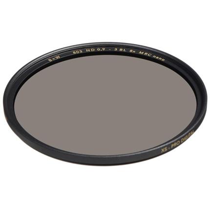 B+W 49mm XS-Pro 803 Neutral Density 0.9 Filter MRC-Nano (3-Stop)