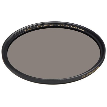 B+W 52mm XS-Pro 803 Neutral Density 0.9 Filter MRC-Nano (3-Stop)