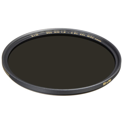 B+W 43mm XS-Pro 806 Neutral Density 1.8 Filter MRC-Nano (6-Stop)