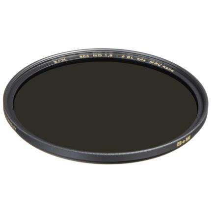 B+W 77mm XS-Pro 806 Neutral Density 1.8 Filter MRC-Nano (6-Stop)