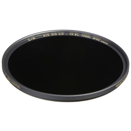B+W 43mm XS-Pro 810 Neutral Density 3.0 Filter MRC-Nano (10-Stop)