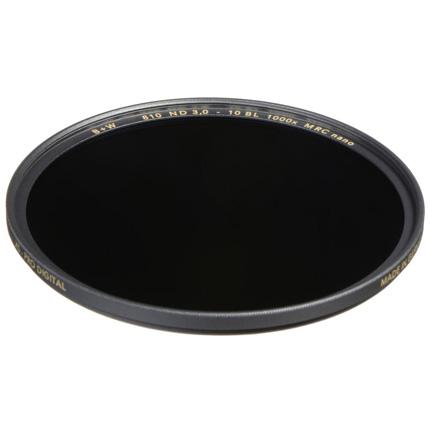 B+W 62mm XS-Pro 810 Neutral Density 3.0 Filter MRC-Nano (10-Stop)