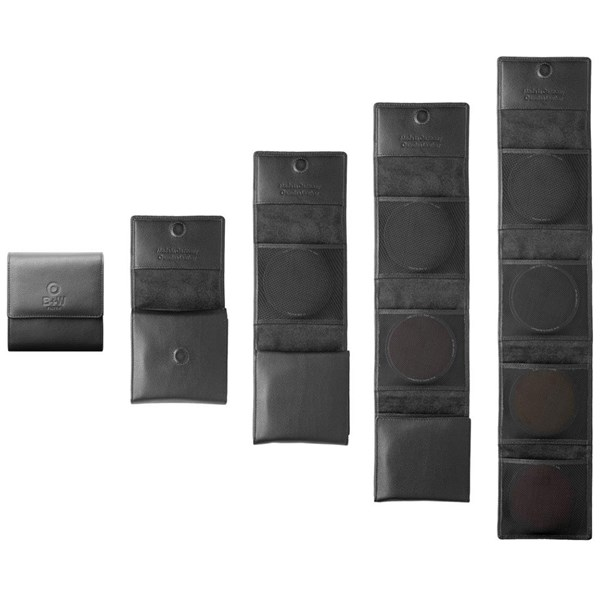 B+W Filter Genuine Leather Wallet 3 Slots 77mm