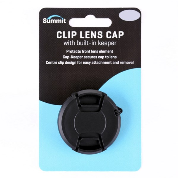 Summit 49mm Clip-On Lens Cap (With Cap Keeper)