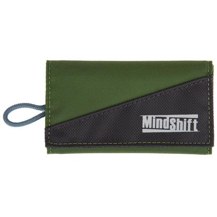MindShift Gear CF Card-Again Memory Card Wallet GreenStone