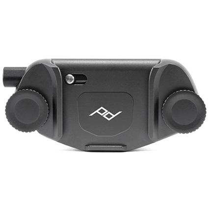 Peak Design Capture Camera Clip (v3) Black with Standard Plate