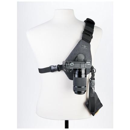 Cotton Carrier Skout Camera/Binocular Sling Charcoal Grey