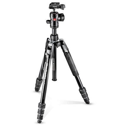 Manfrotto MKBFRTA4BK-BH Befree Advanced Aluminium Twist Lock Tripod Kit