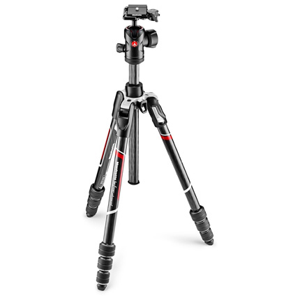 Manfrotto MKBFRTC4-BH Befree Advanced Carbon Fibre Twist Lock Tripod Kit