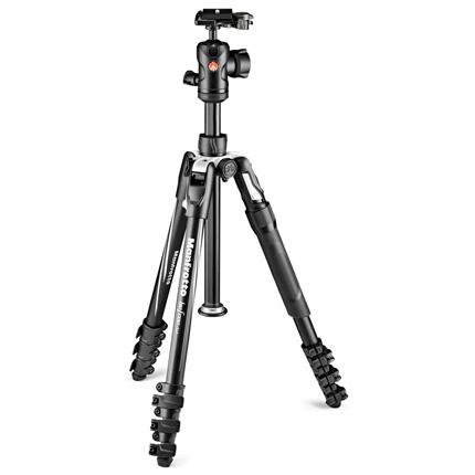 Manfrotto MKBFRLA4B-BHM Befree 2N1 Aluminium Leg Lock Tripod Kit