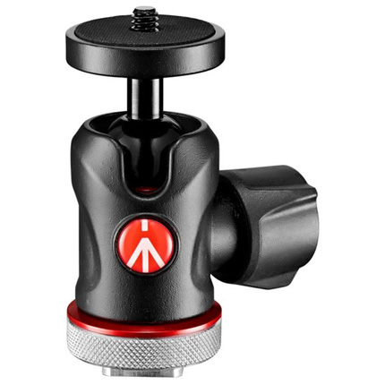 Manfrotto 492 Micro Ball Head with Cold Shoe Mount - Ex Demo