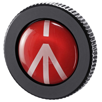 Manfrotto ROUND-PL Quick Release Plate for Compact Action
