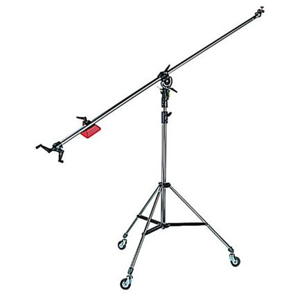 Manfrotto 025BS Super Boom with 008BU Stand Black