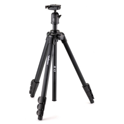 Velbon M43 Aluminium Tripod with Ball Head
